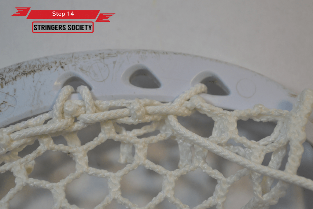 9 Diamond Top String | lacrosse 9 diamond top string tutorial 4 1