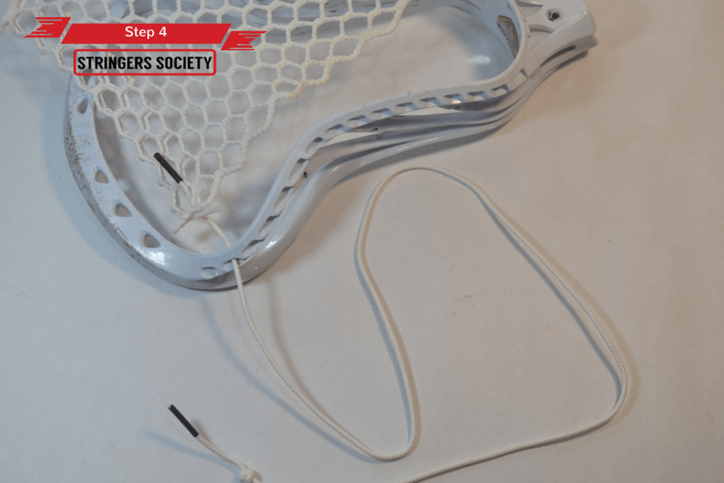 9 Diamond Top String | lacrosse 9 diamond top string tutorial 4