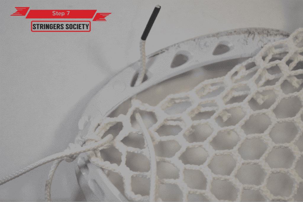 9 Diamond Top String | lacrosse 9 diamond top string tutorial 7