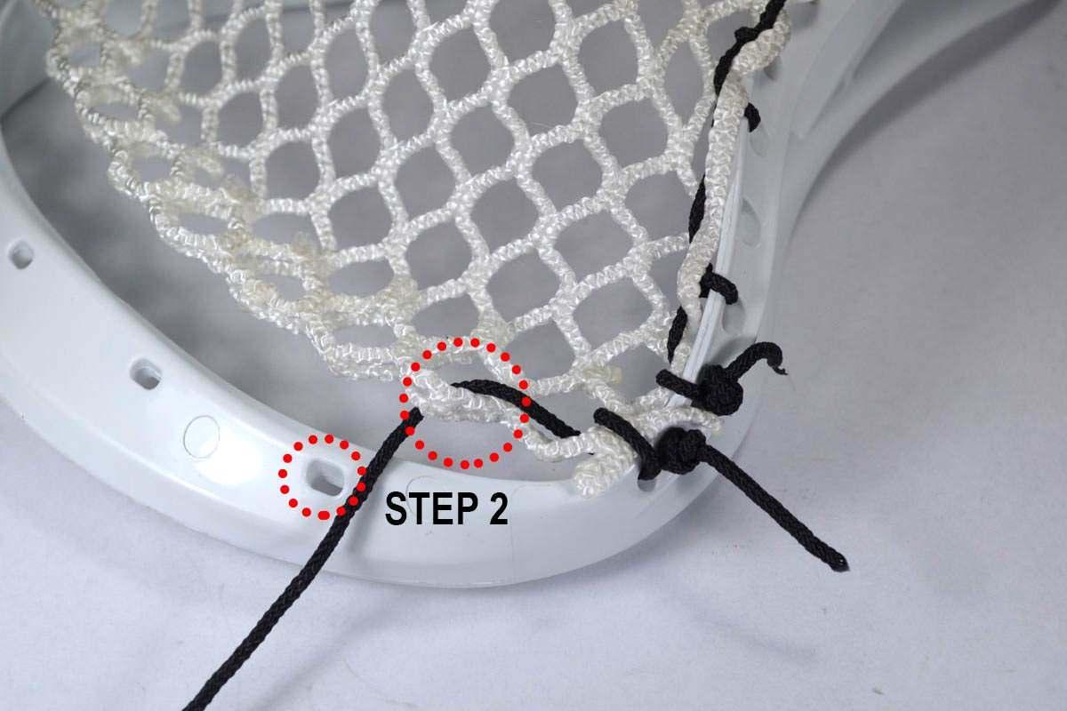 second step diamond hidden top string
