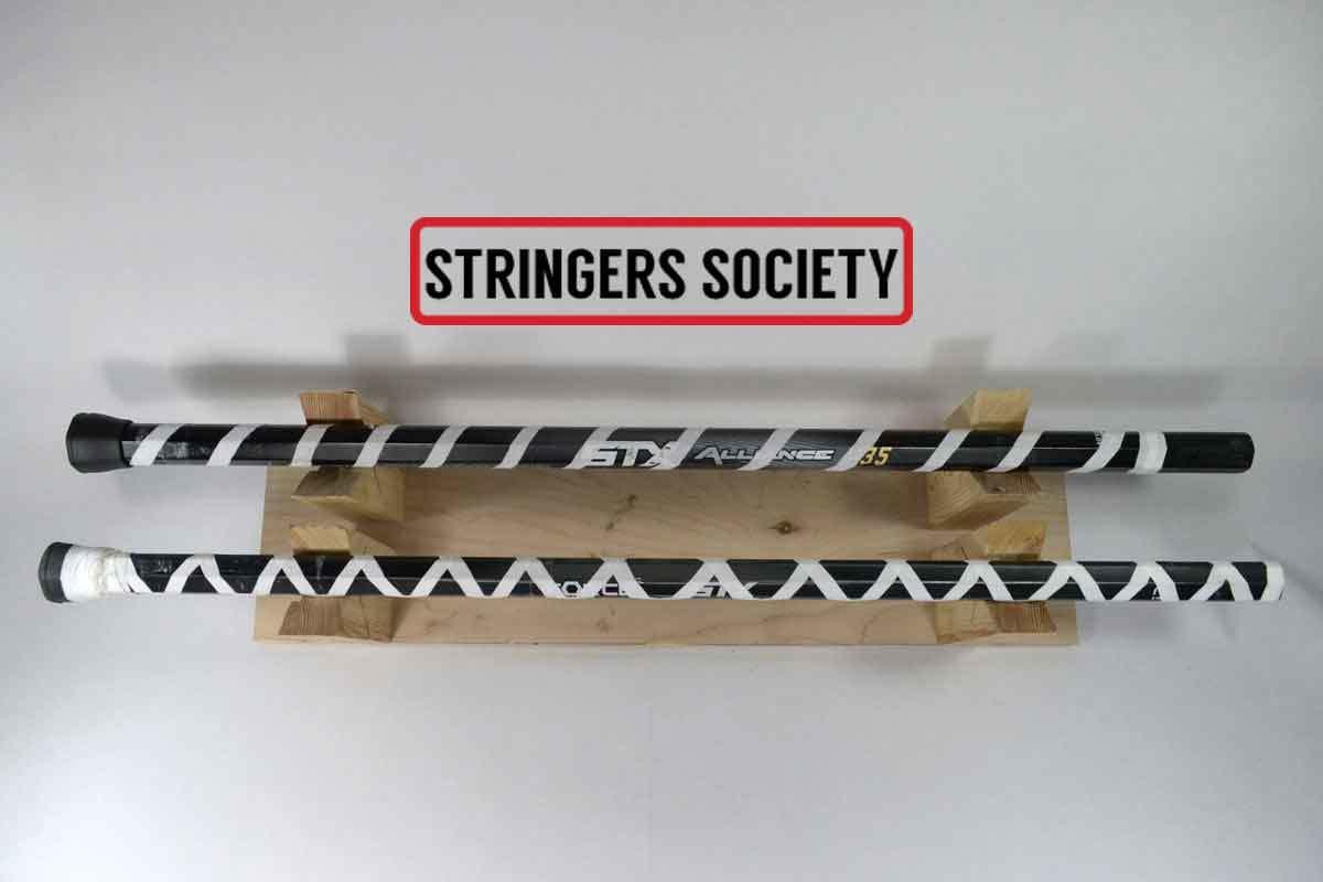 Lacrosse Stick Tape Styles