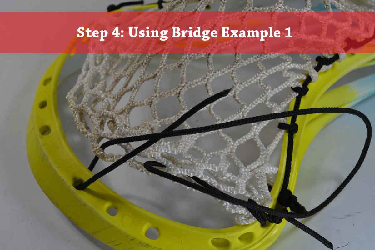 Chenango top string tutorial step