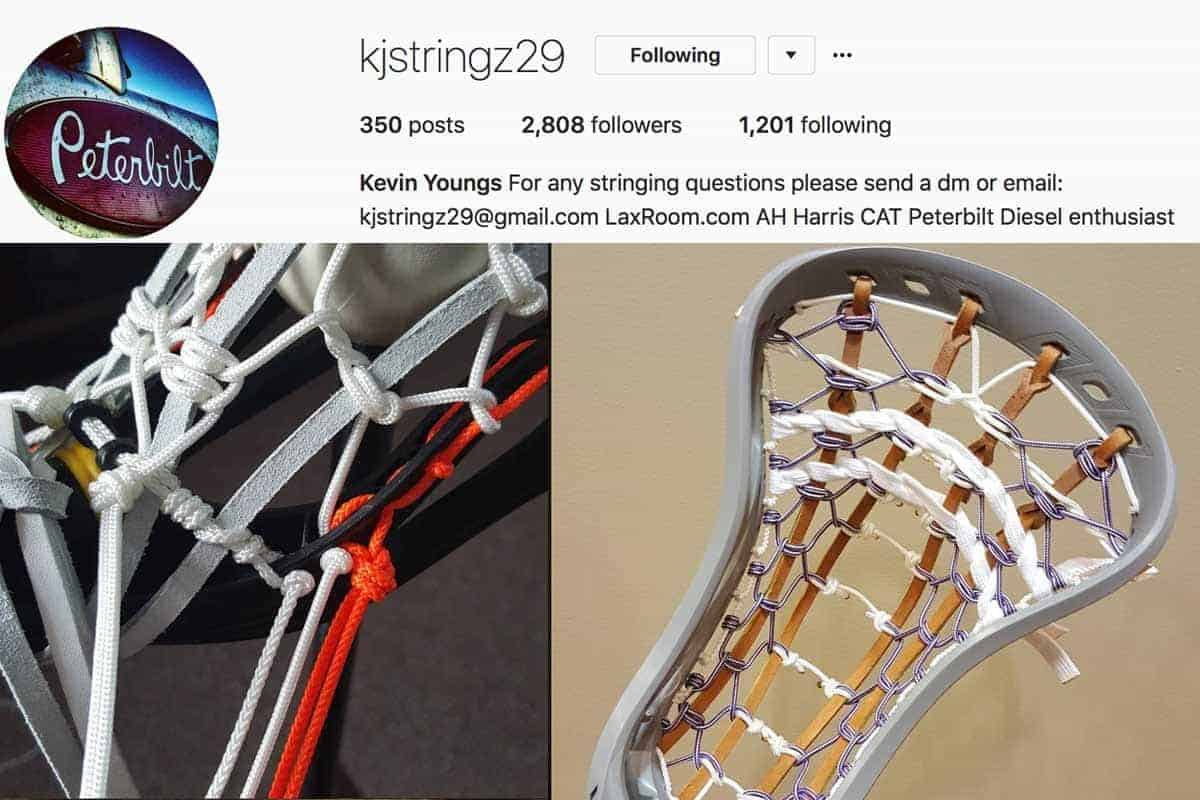 Traditional Lacrosse Pockets