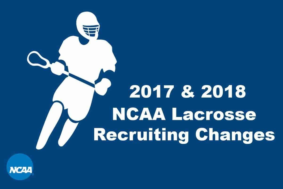 ncaa lacrosse recruiting calendar