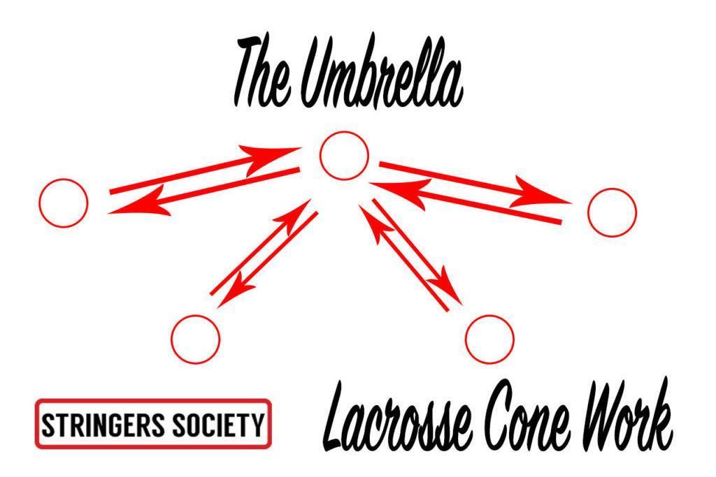lacrosse laddar drills, lacrosse training drills, lacrosse cone drills
