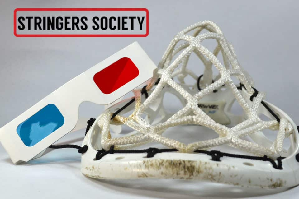 3 diamond lacrosse mesh