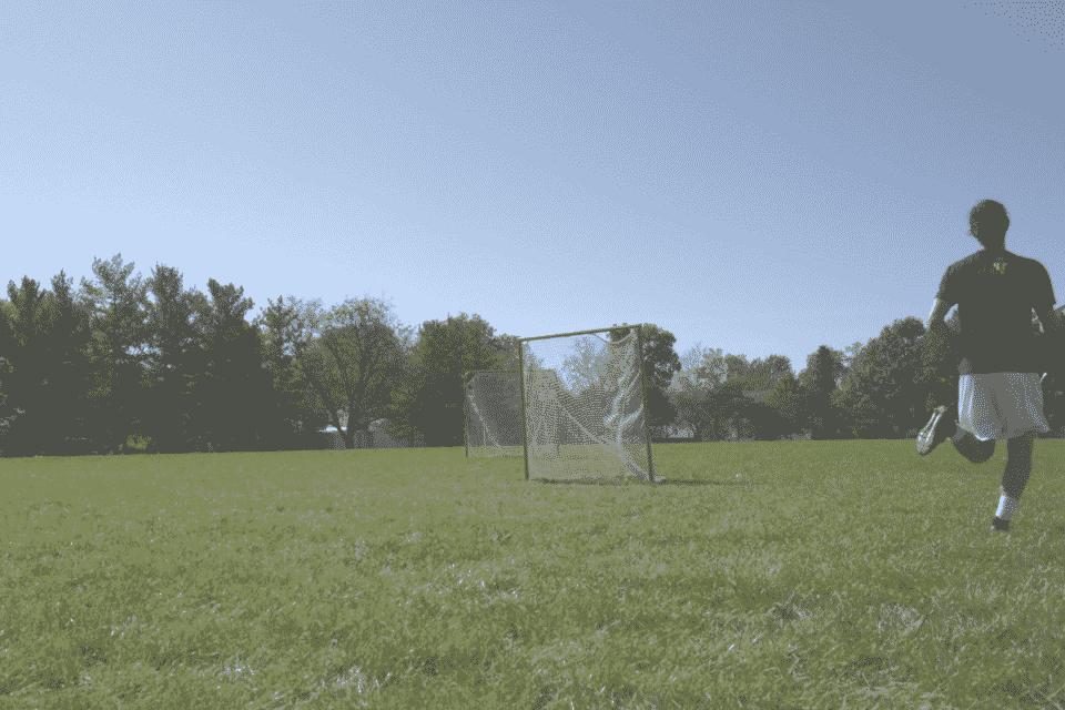 shooting on the run lacrosse