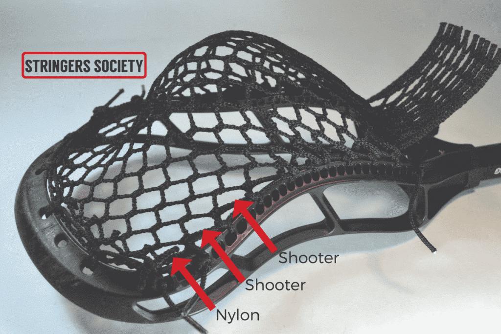 lacrosse shooting strings explained
