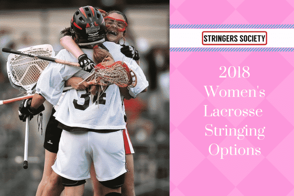womens lacrosse stringing