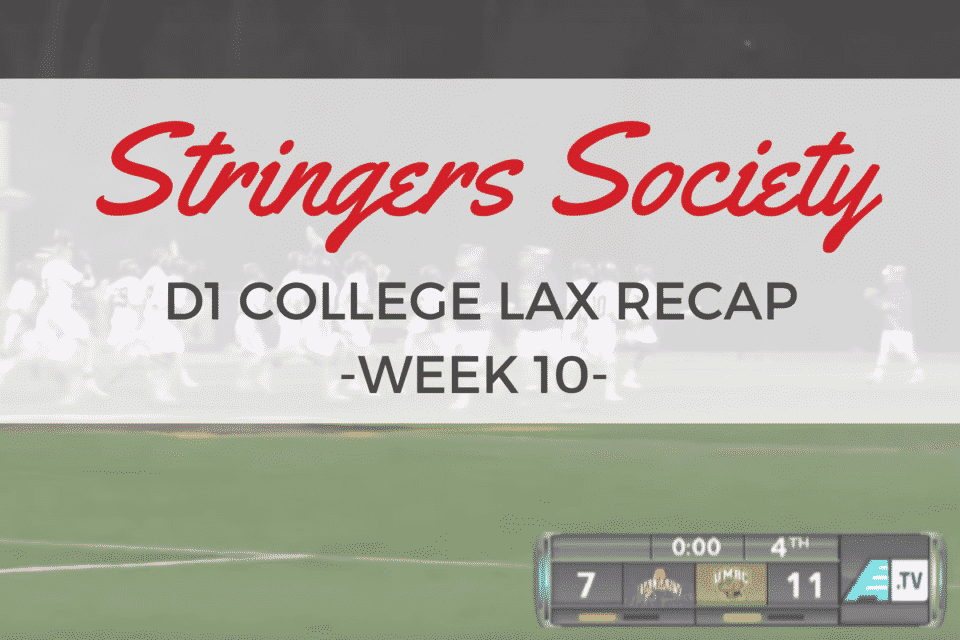 college lacrosse week 10