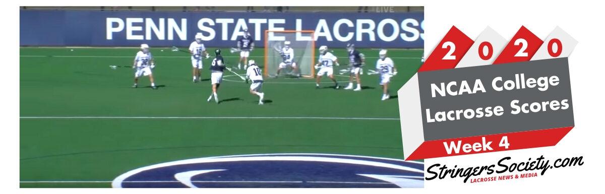2020 college lacrosse scores week 4