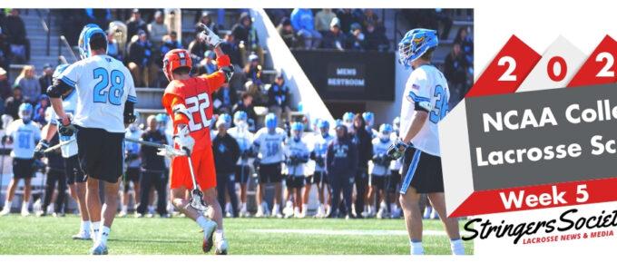2020 college lacrosse week 5