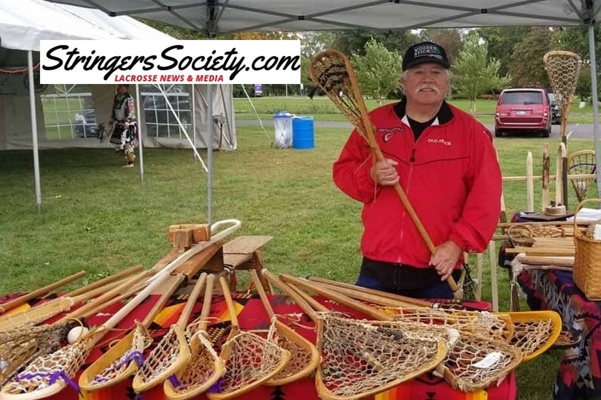 indigenous values puts on wooden lacrosse stick festival