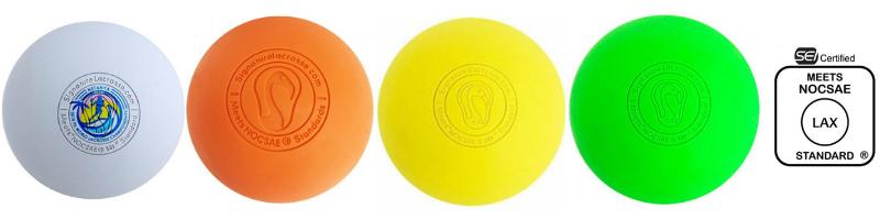 Signature Lacrosse Premium Balls