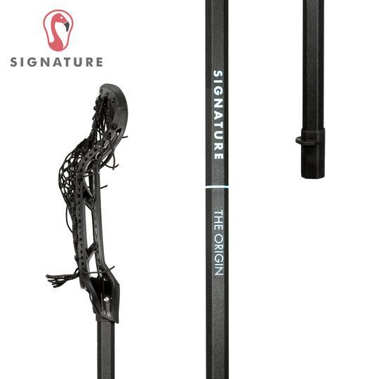 Signature Complete Universal Women's Lacrosse Stick Black