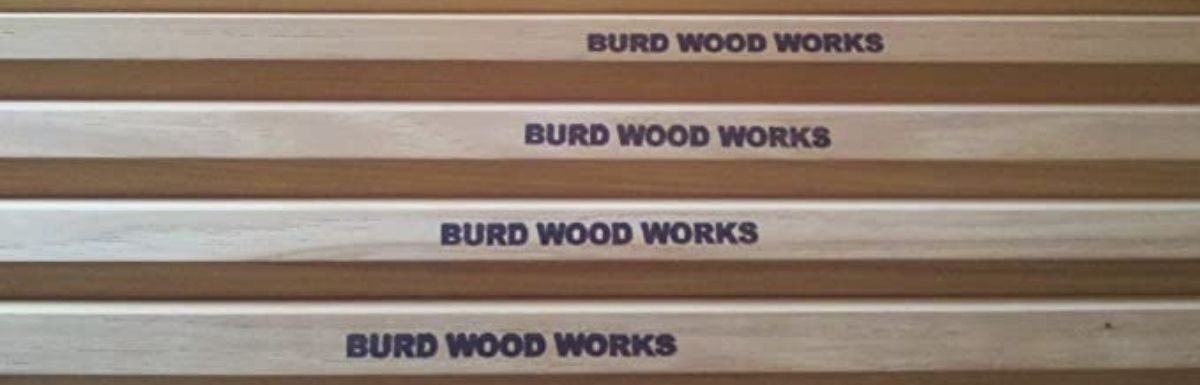burd wood works hickory defense lacrosse shaft