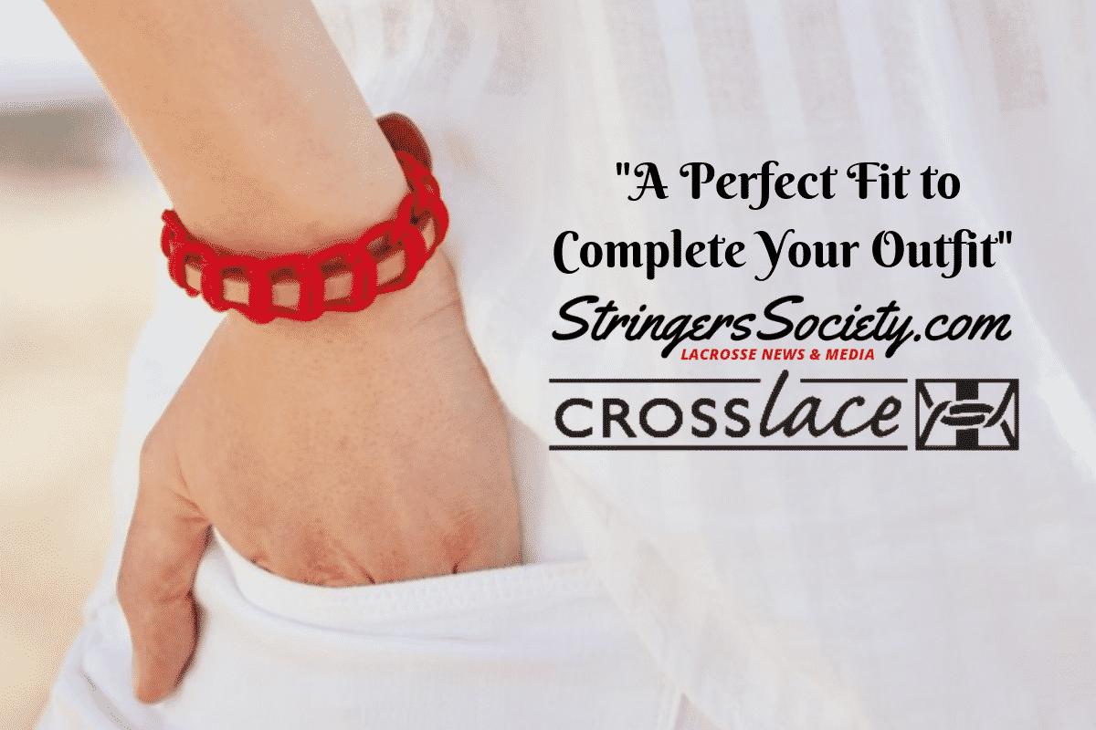 crosslace classic lacrosse bracelets hit the market