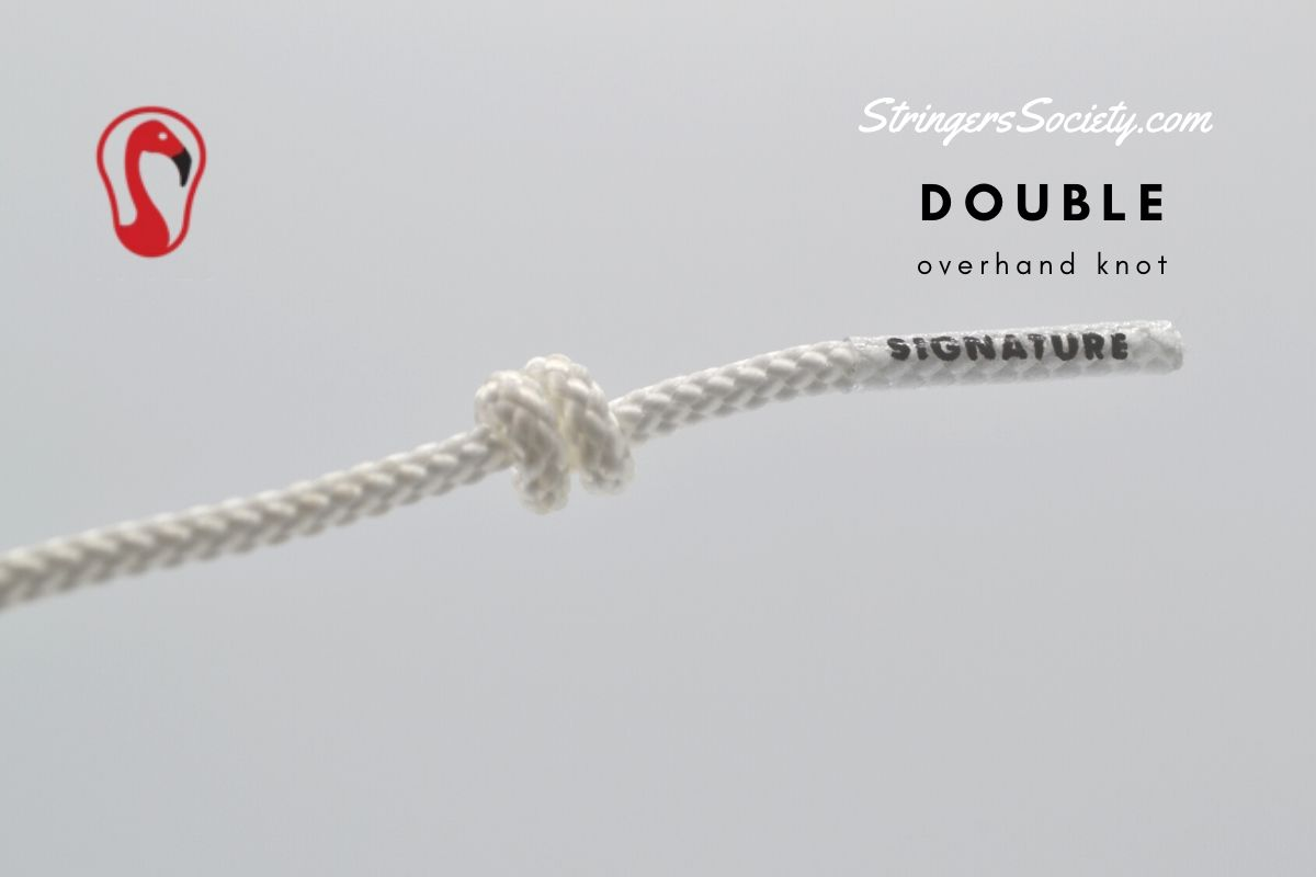 double overhand lacrosse knot