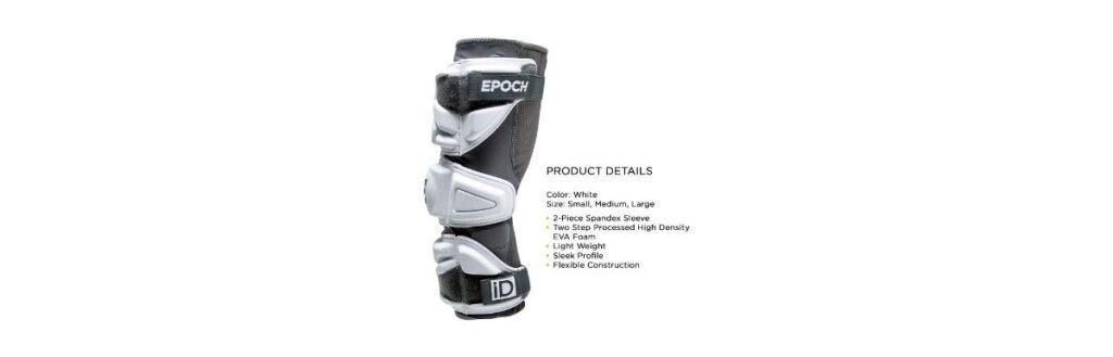 epoch lacrosse id lacrosse arm pads