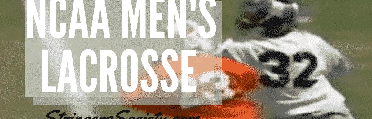 ncaa men's lacrosse predictions week 5