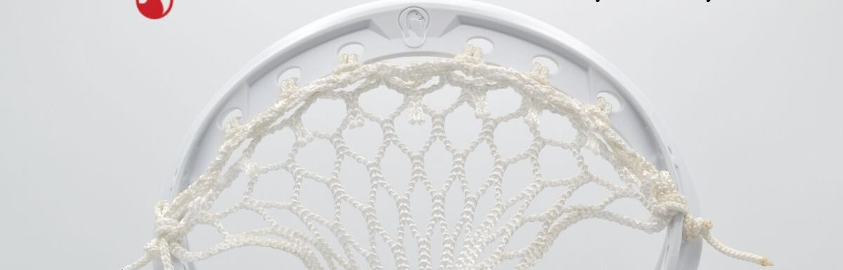 lacrosse head top string