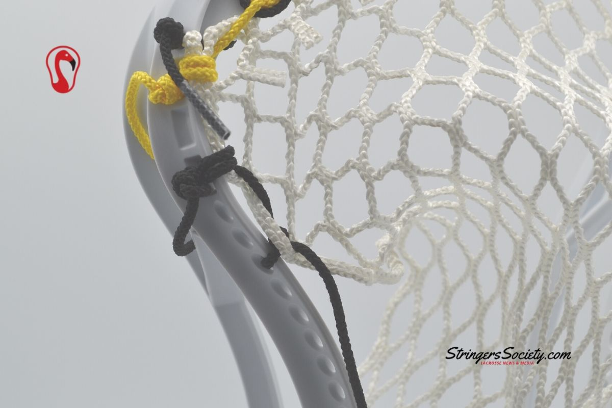 how to string a lacrosse head 3 | How to String a Lacrosse Head