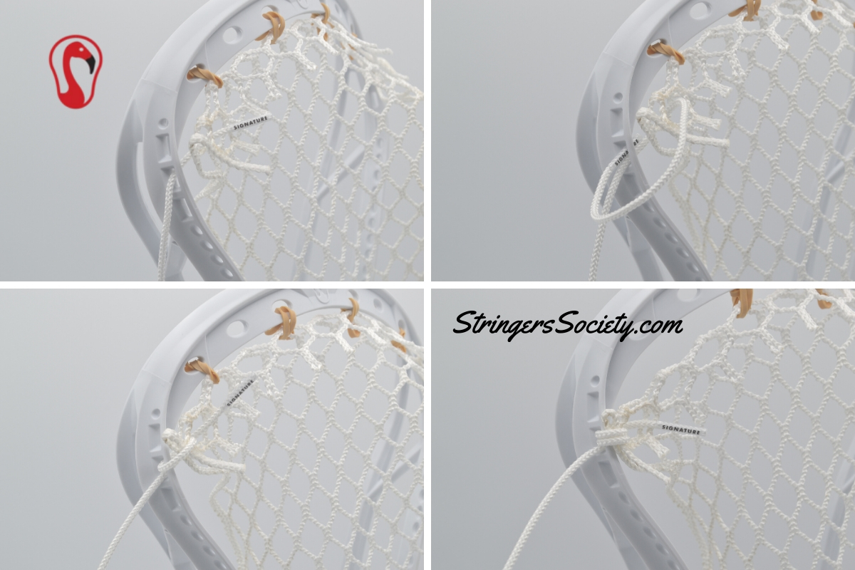 how to string lacrosse head top