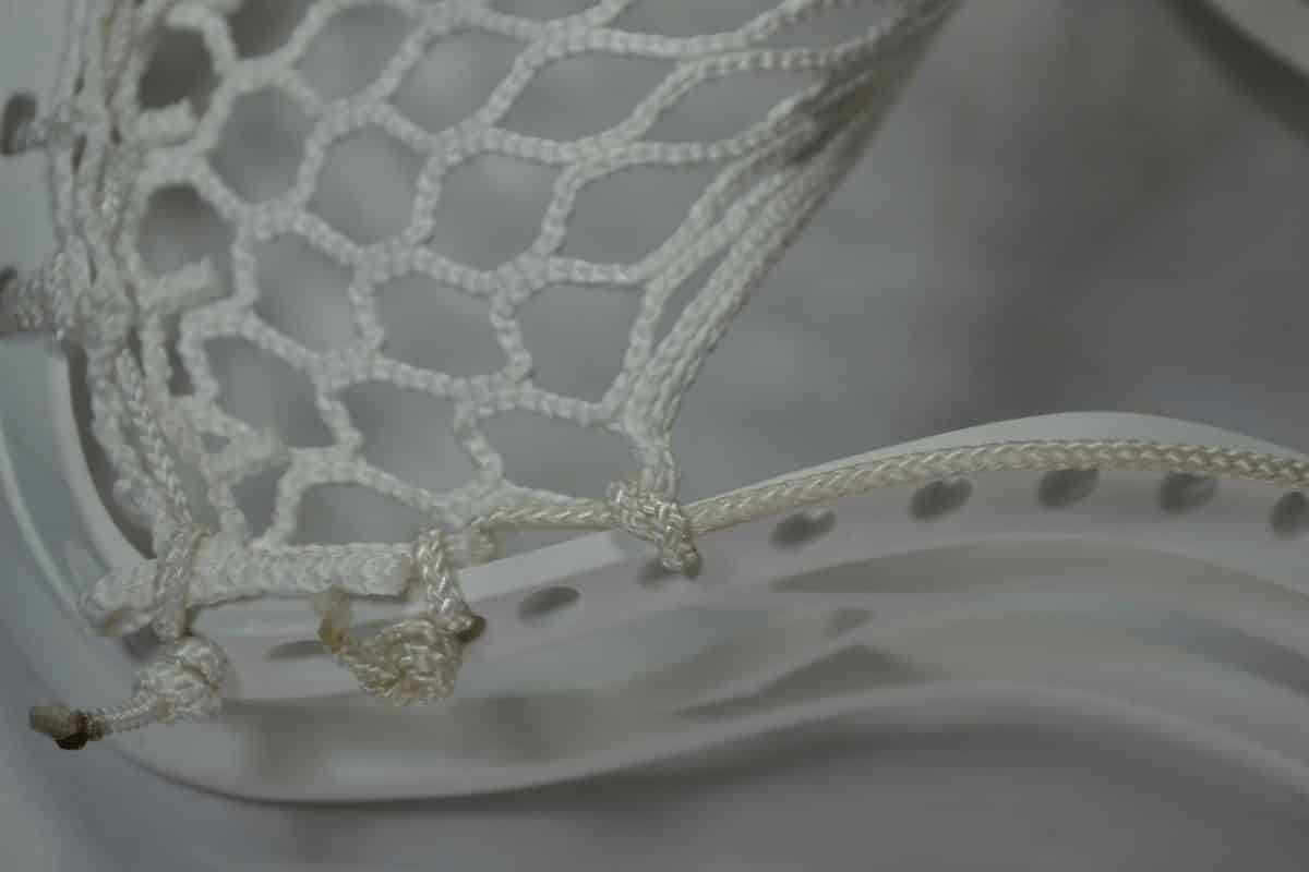 how to string lacrosse stick step by step