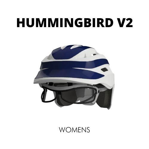 hummingbird v2 womens lacrosse helmet