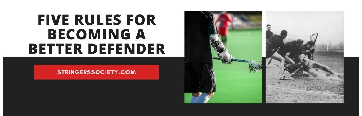 lacrosse defense tips