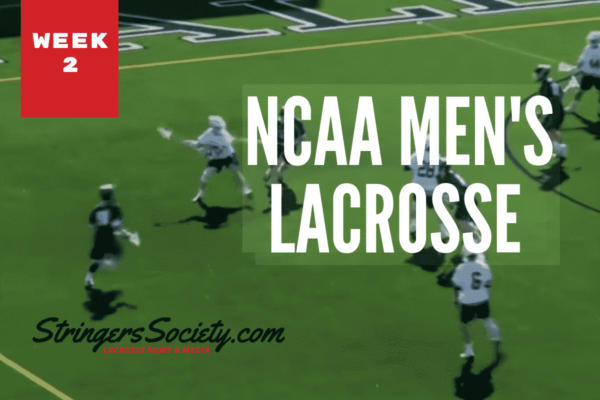 ncaa lacrosse week two