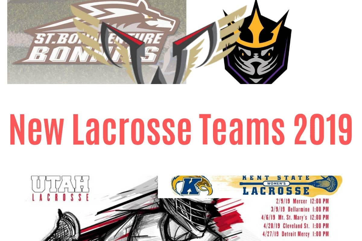 new lacrosse teams