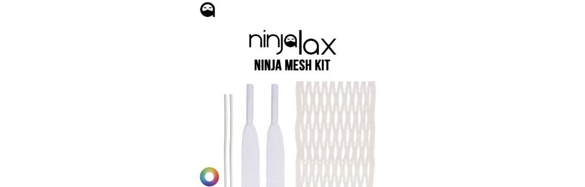 ninjalax infused wax lacrosse mesh