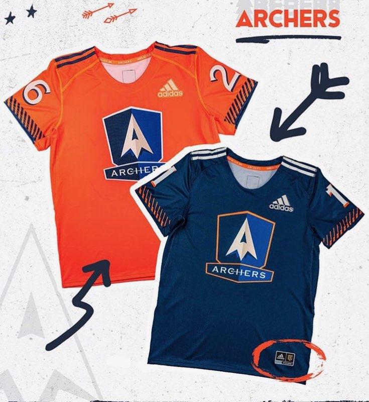 pll archers jerseys