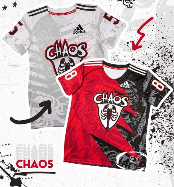 pll chaos jersey
