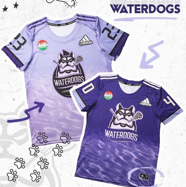pll waterdogs jersey