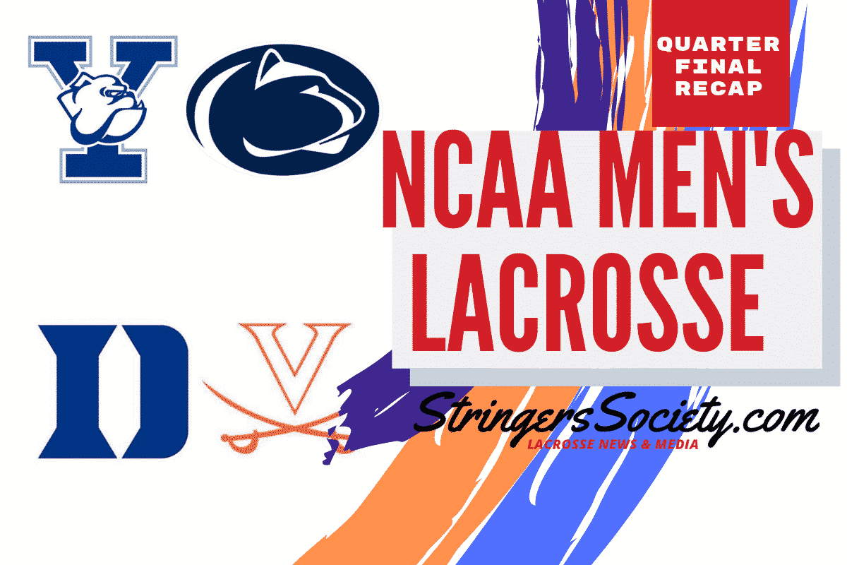 quarterfinal recap | NCAA Division 1 College Lacrosse Predictions March 9 and 10