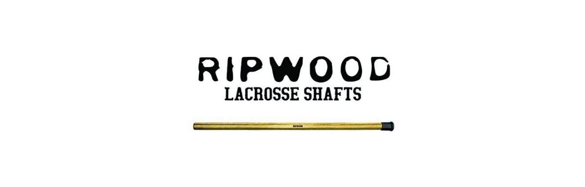 ripwood solid wood ash lacrosse stick