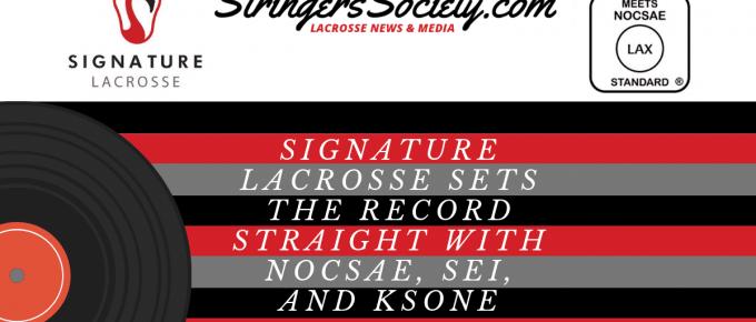 signature lacrosse nocsae lacrosse ball