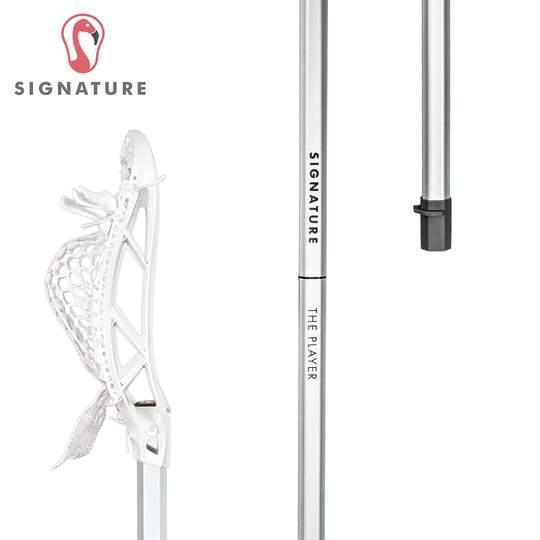 Signature Complete Universal Men's Lacrosse Stick Silver