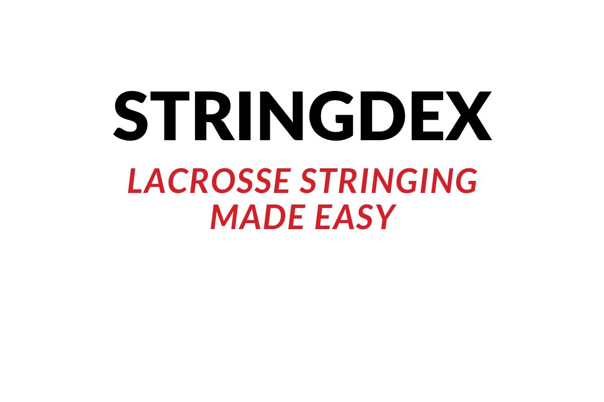 stringdex lacrosse stringing guide