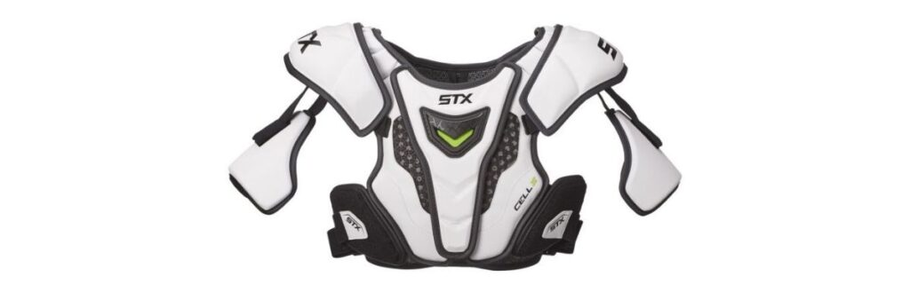 stx lacrosse cell iv lacrosse shoulder pads