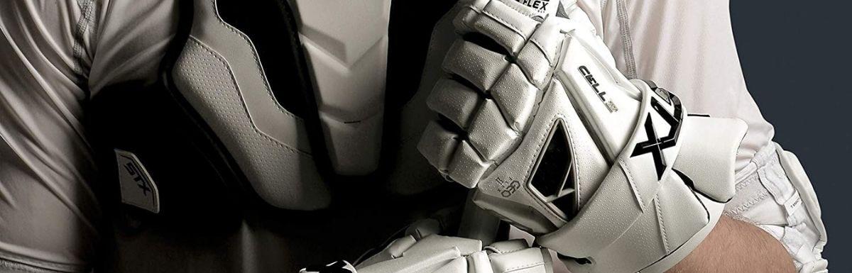 stx lacrosse cell 4 men's lacrosse glove