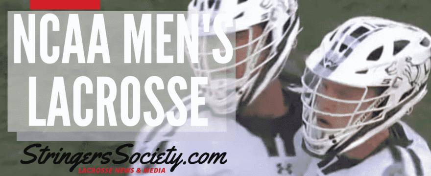 NCAA Men's Lacrosse Week 8  – College Lacrosse Scores