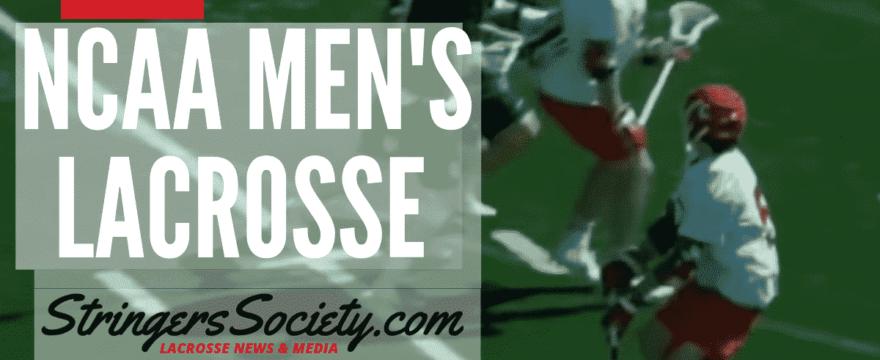 NCAA Men's Lacrosse Week 7 – College Lacrosse Scores