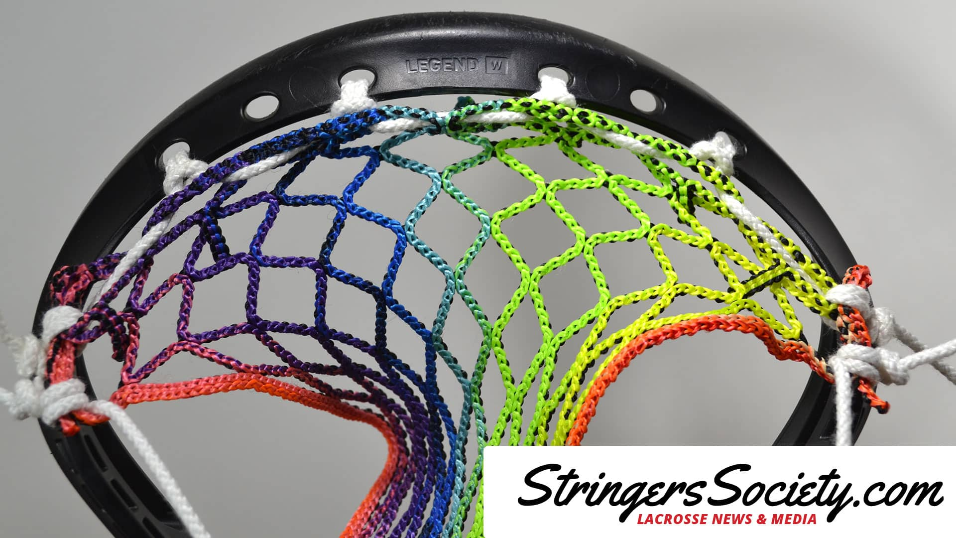 how to string a women's lacrosse head